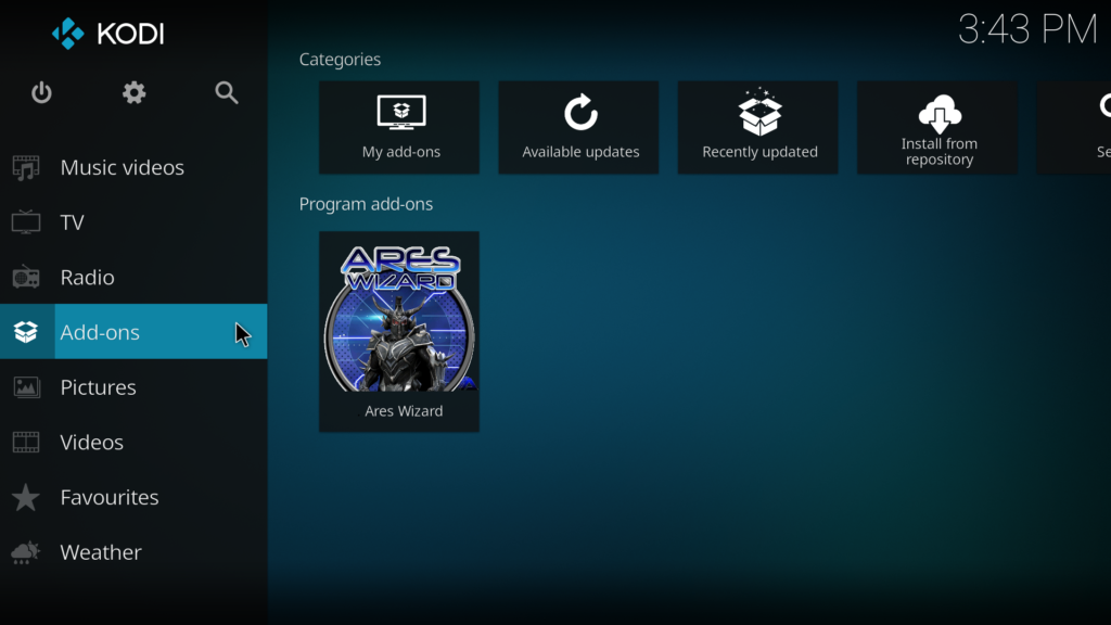 how to get add ons for kodi 17.4
