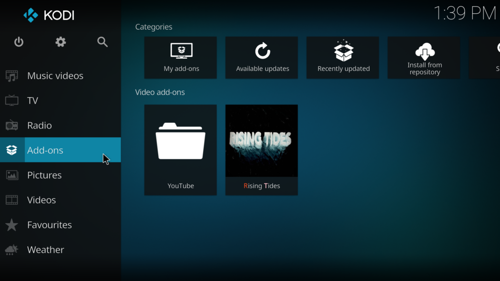 How To Install Rising Tides Add-on For Kodi – Your Streaming TV