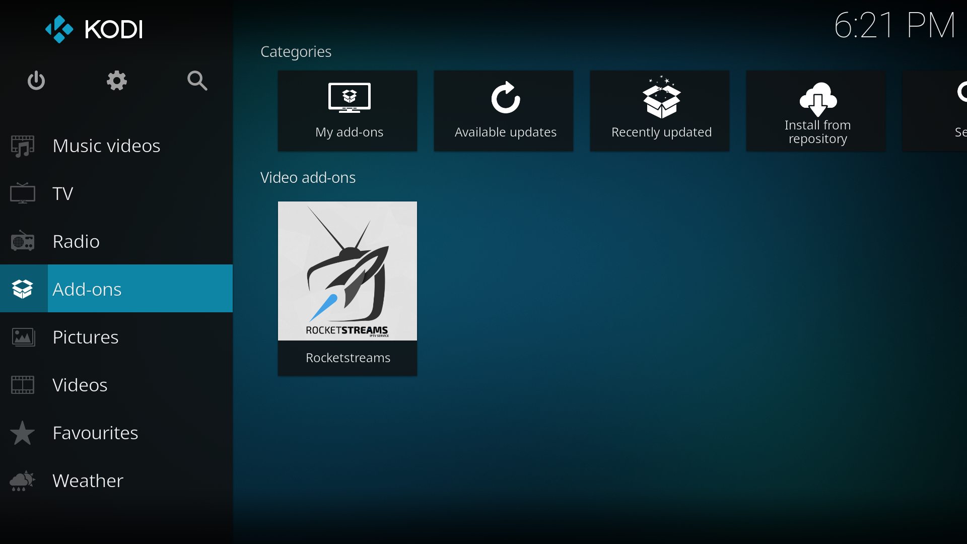 how to install add ons on kodi android