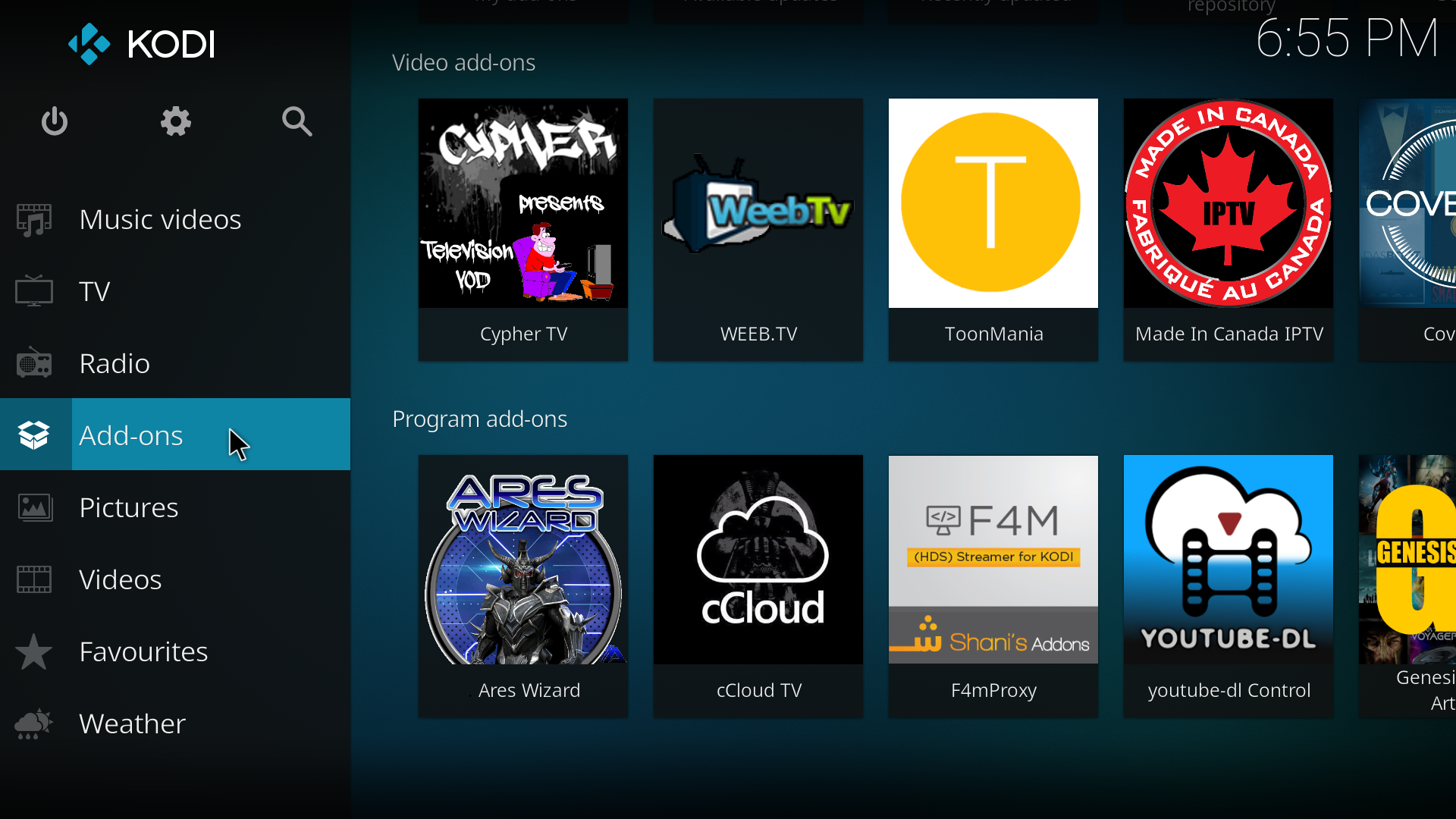 Latest Kodi Builds August