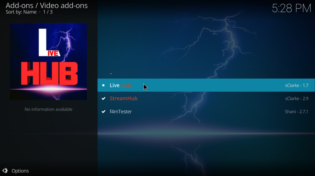 how to download kodi streams