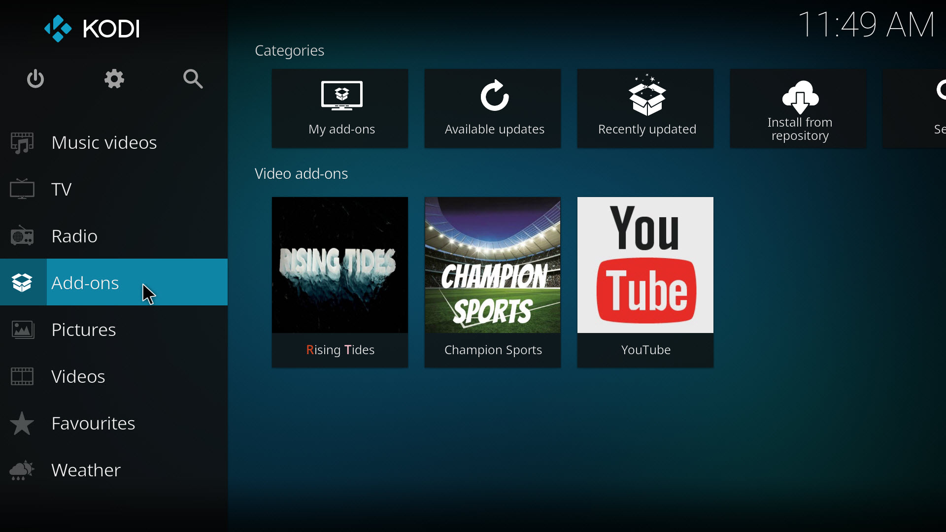 how to add subtitle to kodi 17