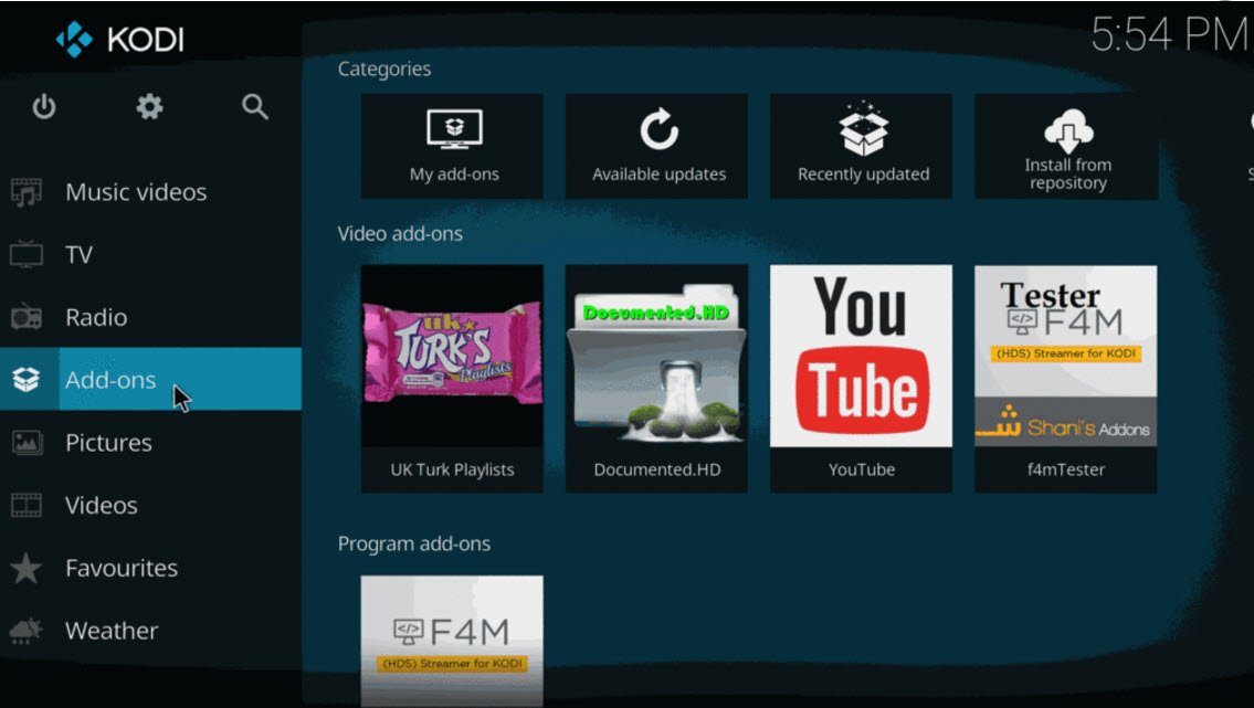Top Movie Add Ons For Kodi