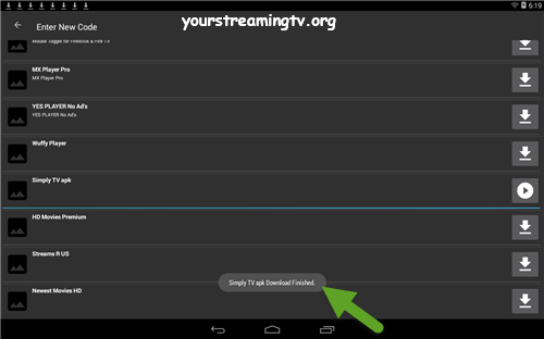 Simply TV IPTV Download Finished – Your Streaming TV