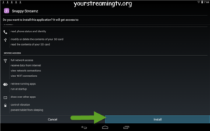 Install Snappy Streamz APK On Android – Your Streaming TV