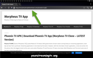 How To Install Phoenix TV APK On Android Box – Your Streaming TV